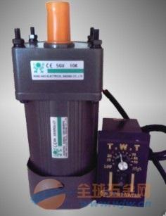 成都 交流齿轮减速变速电机马达GV18 100W 10s -交流微型减速电机 图片