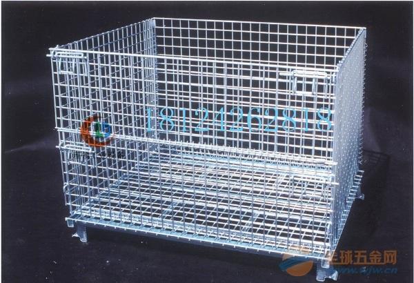 焊接式折叠仓库笼