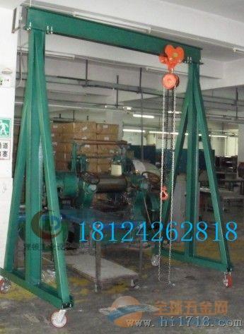 2吨小型工厂龙门吊架