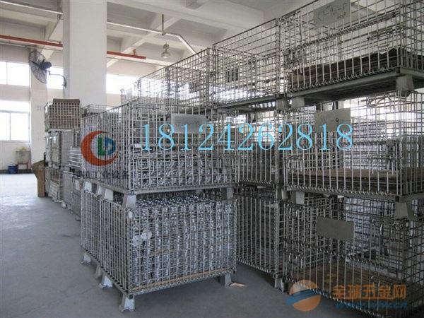 带中空板仓储笼//网格式仓储笼//广州厂家直销