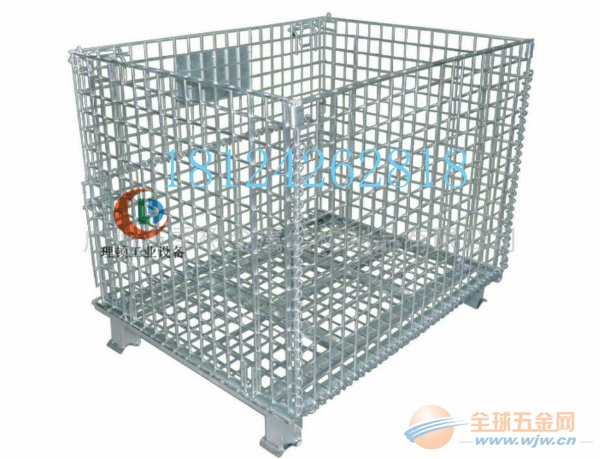 折叠式铁笼子//折叠式铁笼子//折叠式镀锌笼子