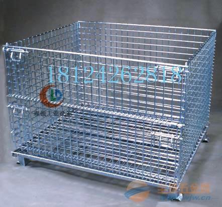 现货仓储笼/标准现货仓储笼/网格式仓储笼热销