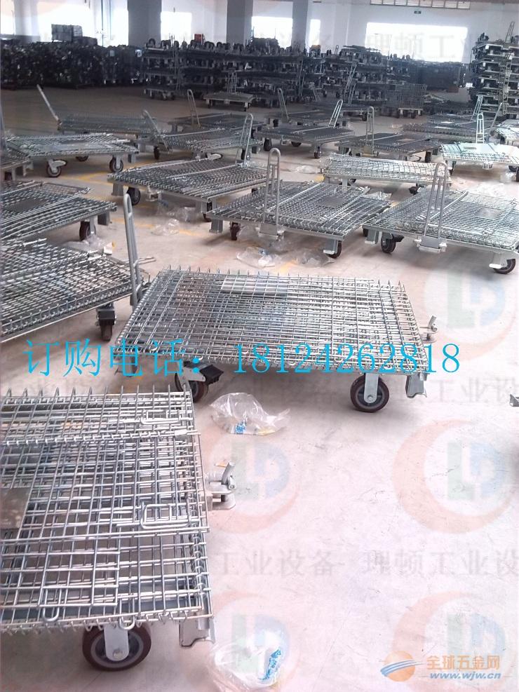 带牵引仓库笼-带牵引仓库笼-带牵引折叠式仓库笼-带牵引仓库笼