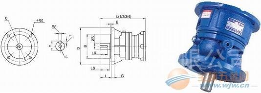 三亚HF-200-5.78-1/4-H1减速机台湾制造选型表