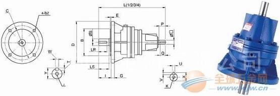 三亚VS-200-5.78-1/4-H1减速机台湾