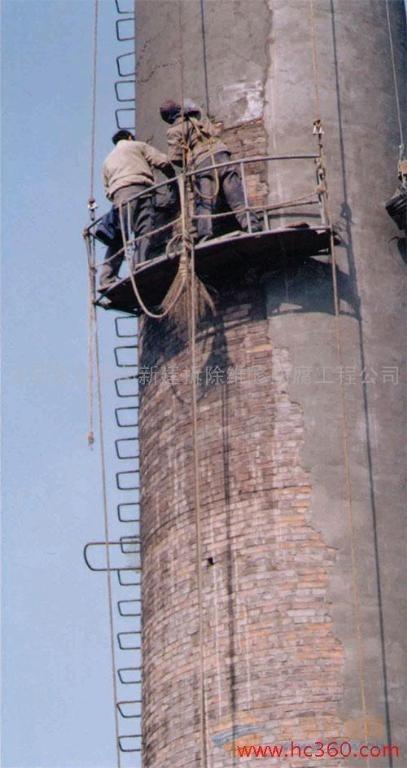 合肥砖烟囱玻璃鳞片防腐施工队