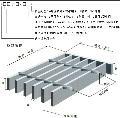 百叶窗式格栅板 直销格栅板厂家 重型钢格板订制