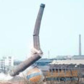 格尔木砖窑烟囱定向爆破拆除公司欢迎访问