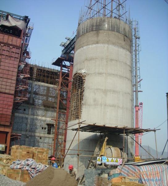 边坝县水泥烟囱更换爬梯护网平台公司欢迎访问