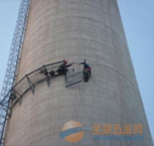 延安水泥烟囱更换爬梯护网平台公司欢迎访问