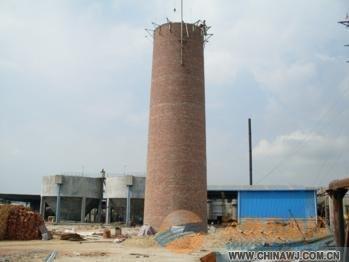 北京市砖烟囱拆除加高图片-013814375150