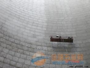烟囱内壁防腐、烟筒探伤检测、烟囱水泥粉刷