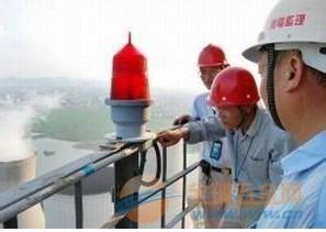 珠海市烟囱更换爬梯护网信号灯公司-013814375150