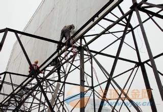 乌马河区砖砌烟囱安装旋梯平台制作方案