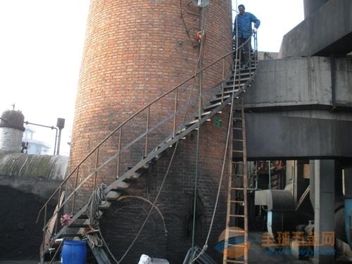烟囱安装旋转梯/烟囱安装旋梯/烟囱安装转梯