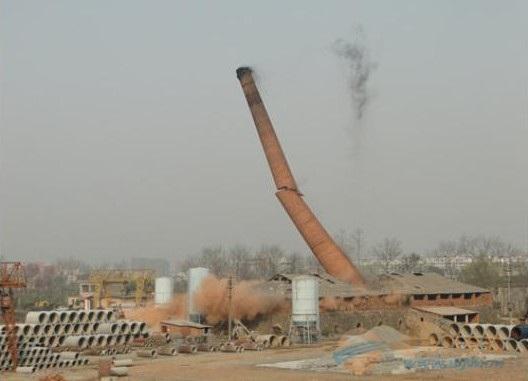 美溪专业拆烟囱公司