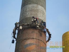 荆州烟囱维修公司