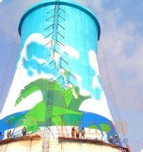 专业电厂冷却塔内外壁防腐