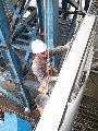 电厂锅炉炉架除锈刷油漆【专业】0-13814375150