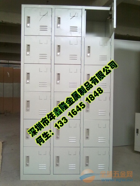 二十八门铁皮柜|32门36门鞋柜NXL-016