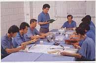 工厂高层技术研讨会议