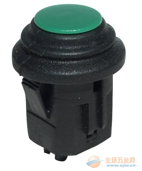 厂家直销 带红灯绿灯按钮形开关 IP67小型单控防水开关系列