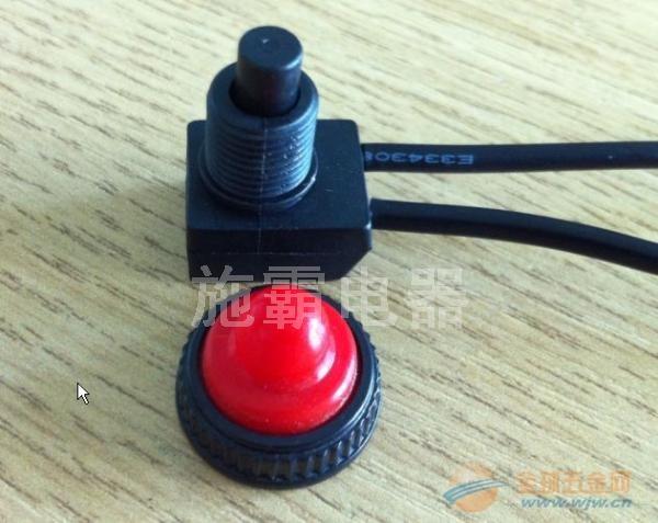 防水按钮开关,ZE-107S,自锁,无锁