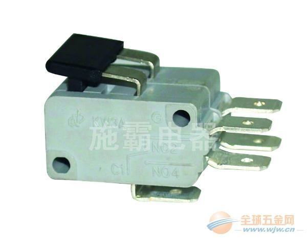 厂家供应高品质 高认证KW3A白色微动开关