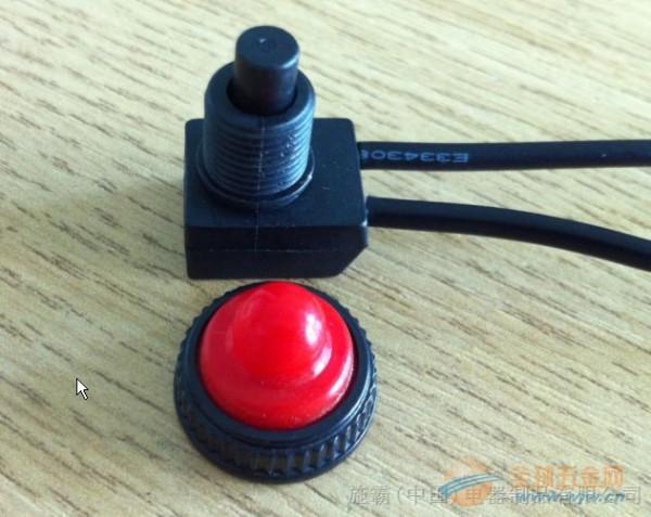 ZE-107S防水开关,107高柄按钮开关,透明头盖按钮开关