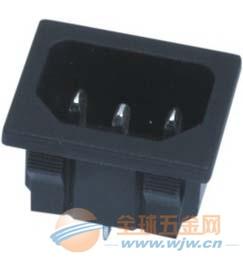 施霸电器供应电源插座 ST-A01插座,三孔插座带保险丝插座