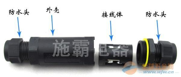 热销端子连接器接插件,TUV认证连接器插件,防水接线端(图)
