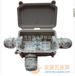 强烈推荐施霸IP65防水接线盒,2孔或3孔出线(图)厂家直销
