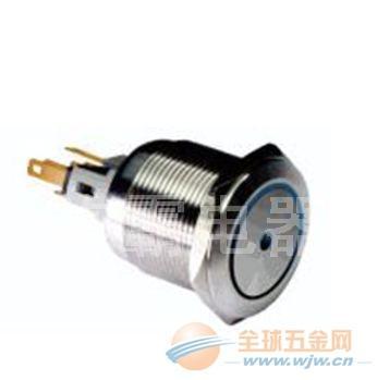 施霸直销金属按钮开关,开孔22mm,可做带灯CE认证