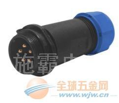 供应施霸连接器,防水连接器,螺纹锁紧,耐高温 (图)