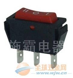 施霸电器供应 KCD1翘板开关,指示灯开关排插开关,防水开关
