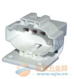 施霸电器供应 2G7灯座,4针灯座,卡式灯座底座上螺丝