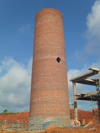 云浮45米砖烟囱 云浮45米砖烟囱新建