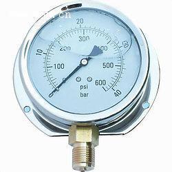 高精度高品质耐震充油压力表系列(直径40mm-100mm可以生产到2500公斤)