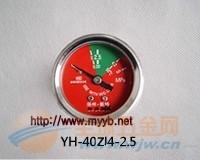 VAB消防压力表25mm-40mm压力可生产到1000公斤