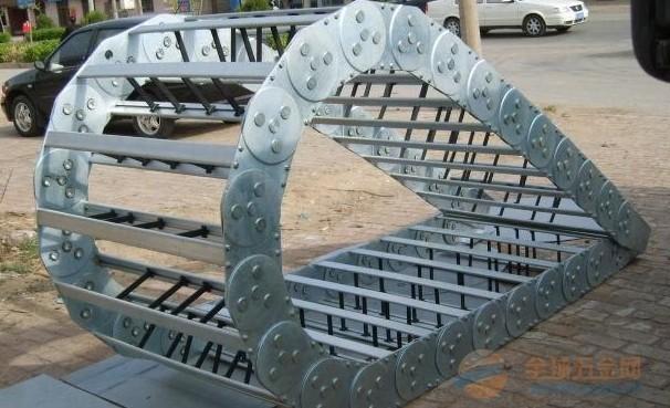 供应 益阳机床钢制 不锈钢拖链 加工中心专用拖链