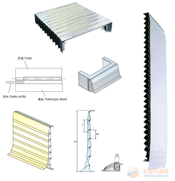 朔州机床 机床防护罩 抓紧每一道工序,做好每一件产品。