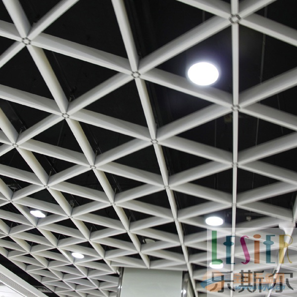 乐斯尔品牌造型铝格栅