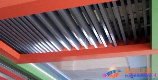 镀锌铝合金加工而成的铝方通