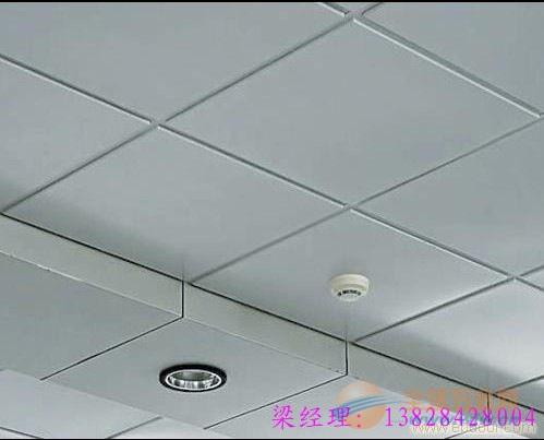 暗格式安装铝扣板的效果