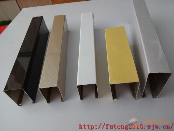 粉末喷涂铝方通的安装示意图