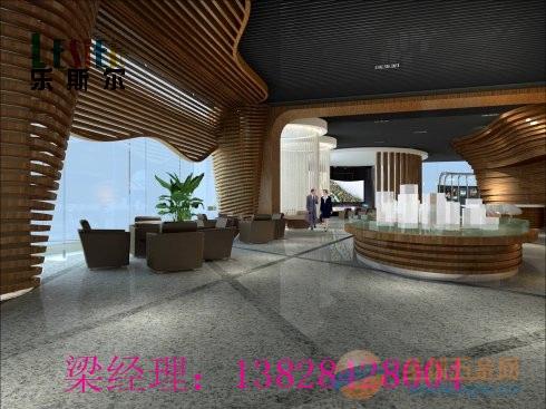深圳酒店大堂0.7mm厚木纹铝方通的直销厂家