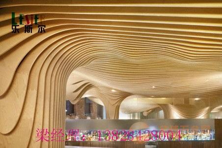 杭州弧形铝方通的工程实例