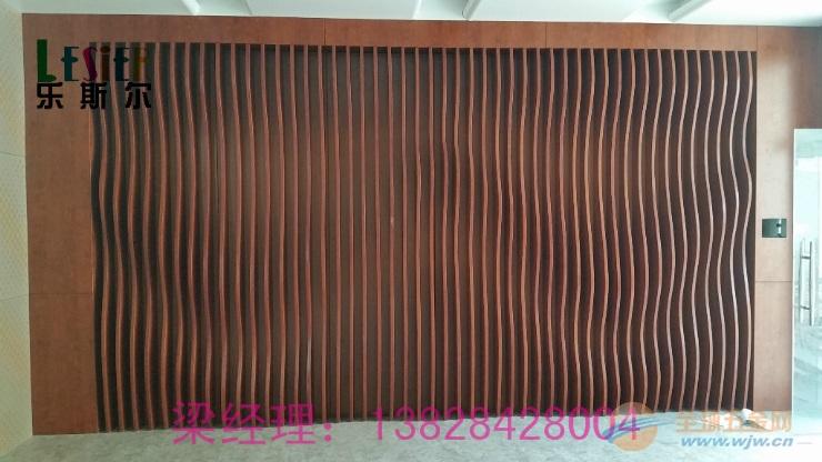 宁波幕墙立柱波浪形铝方通生产厂家