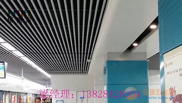 抚顺40底90高,0.75mm厚覆膜铝方通生产厂家