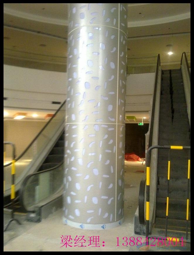 攀枝花包柱铝单板安装图